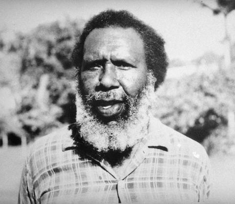 Portrait shot of Eddie Koiki Mabo