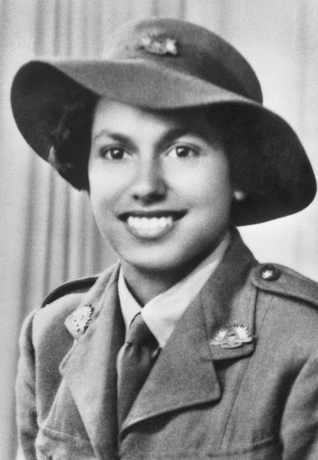 Portrait shot of Lance Corporal Kathleen Jean Mary Walker
