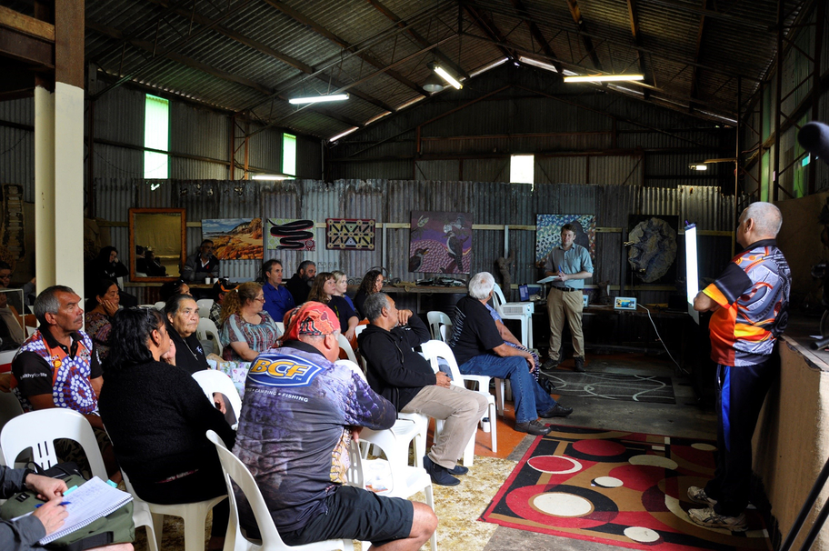 Meeting with Indigenous cultural fishers on the NSW south coast