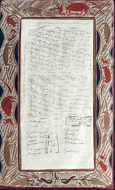 The Yirrkala Bark Petitions