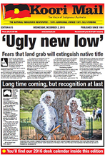 Cover of Koori Mail issue 615